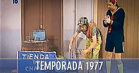 Lista oficial de episodios del Chavo, año 1977