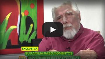 Video: Rubén Aguirre en entrevista luego de salir del hospital