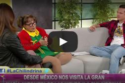"""Video: """"La Chilindrina"""" en """"Bien por casa"""" (Perú)"""